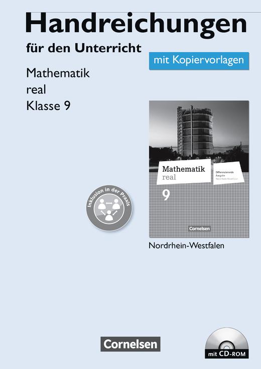 Mathematik real - Handreichungen für den Unterricht, Kopiervorlagen mit CD-ROM - 9. Schuljahr
