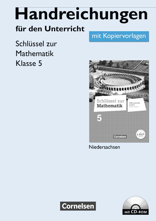Schlüssel zur Mathematik - Handreichungen für den Unterricht, Kopiervorlagen mit CD-ROM - 5. Schuljahr