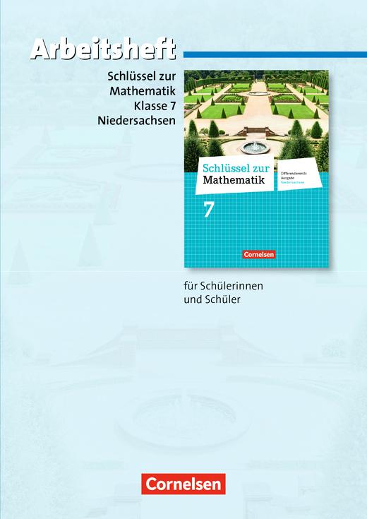Schlüssel zur Mathematik - Arbeitsheft mit eingelegten Lösungen - 7. Schuljahr