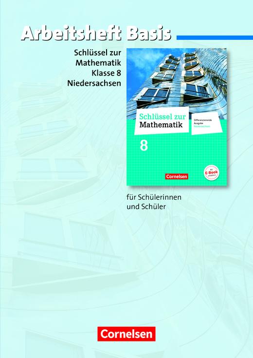 Schlüssel zur Mathematik - Arbeitsheft Basis mit eingelegten Lösungen - 8. Schuljahr