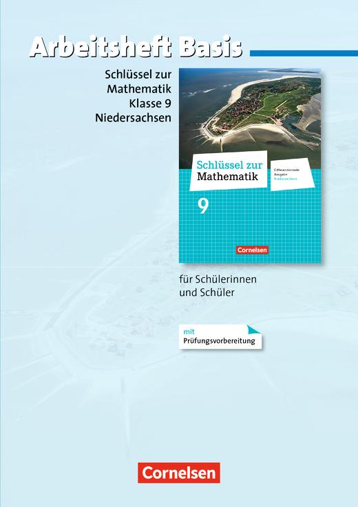 Schlüssel zur Mathematik - Arbeitsheft Basis mit eingelegten Lösungen - 9. Schuljahr