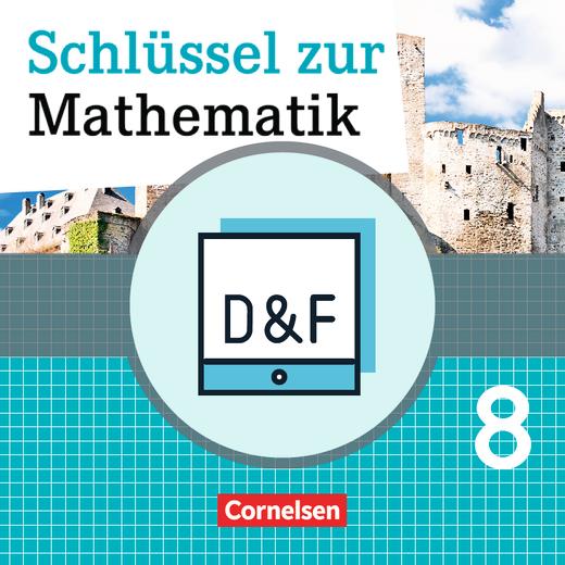 Schlüssel zur Mathematik - Diagnose und Fördern online - 8. Schuljahr