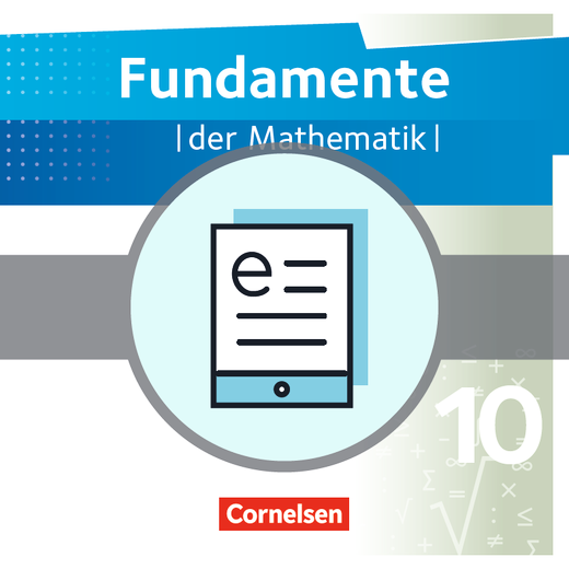 Fundamente der Mathematik - Schülerbuch als E-Book - 10. Schuljahr