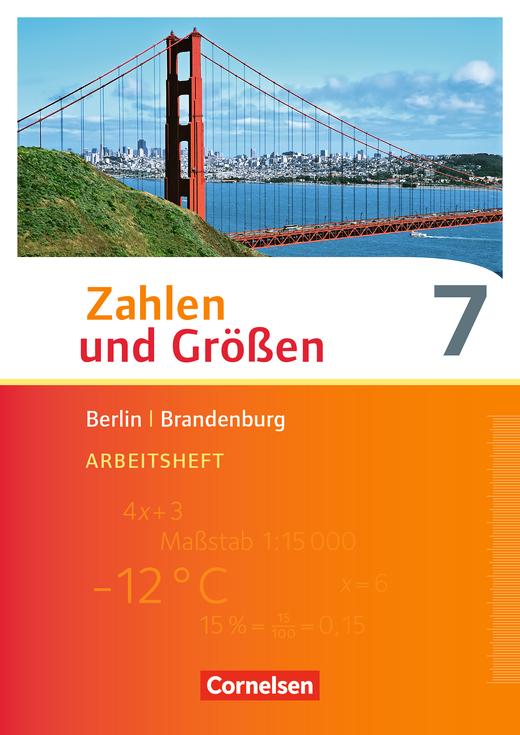 Zahlen und Größen - Arbeitsheft mit Online-Lösungen - 7. Schuljahr
