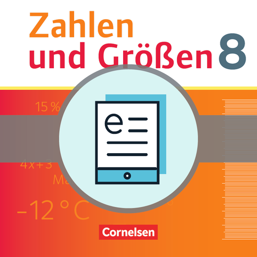 Zahlen und Größen - Schülerbuch als E-Book - 8. Schuljahr