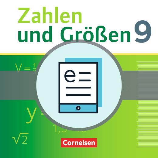 Zahlen und Größen - Schülerbuch als E-Book - 9. Schuljahr