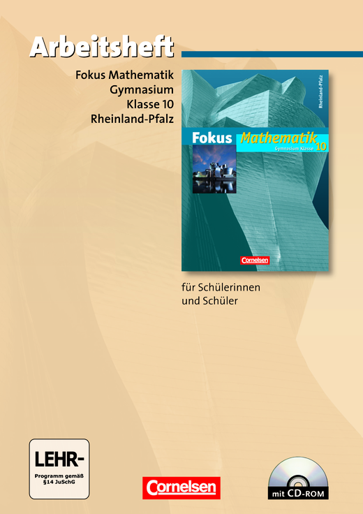 Fokus Mathematik - Arbeitsheft mit eingelegten Lösungen und CD-ROM - 10. Schuljahr