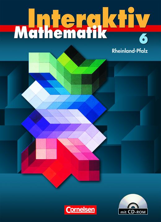 Mathematik interaktiv - Schülerbuch mit CD-ROM - 6. Schuljahr