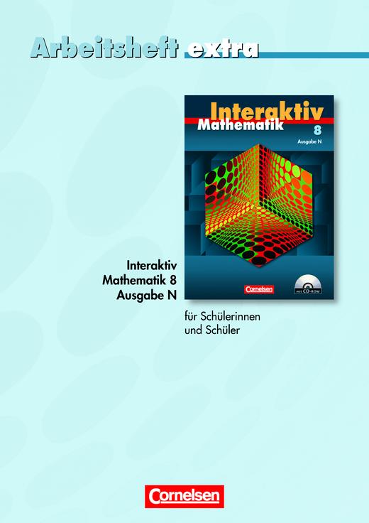 Mathematik interaktiv - Arbeitsheft extra - zur Differenzierung auf einfachem Niveau - 8. Schuljahr