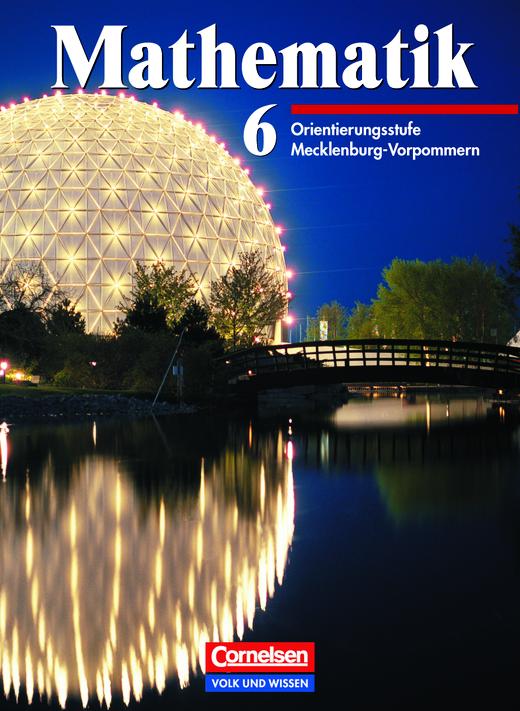 Mathematik Sekundarstufe I - Ausgabe Volk und Wissen - Schülerbuch - 6. Schuljahr