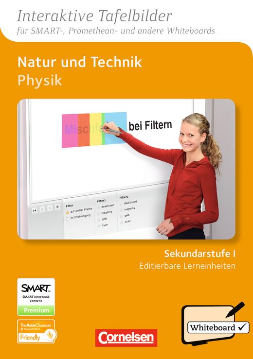 Natur und Technik - Physik: Differenzierende Ausgabe - Interaktive Tafelbilder für Whiteboards - DVD-ROM - Sekundarstufe I
