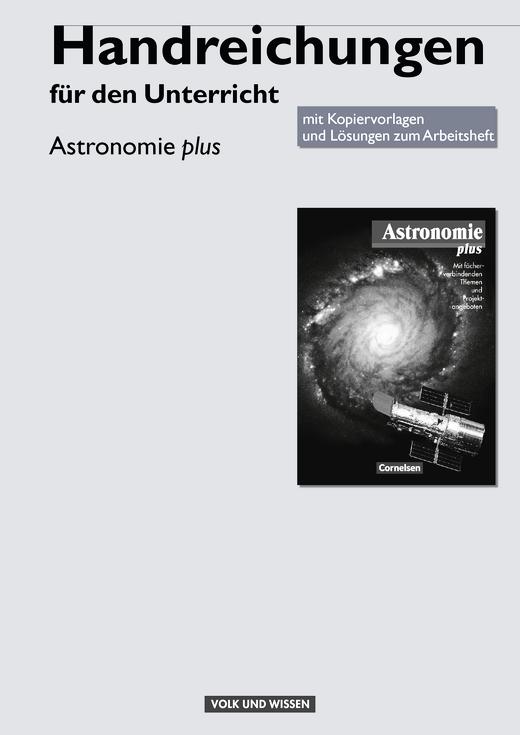 Astronomie plus - Handreichungen für den Unterricht