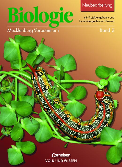 Biologie - Ausgabe Volk und Wissen - Schülerbuch - 7./8. Schuljahr