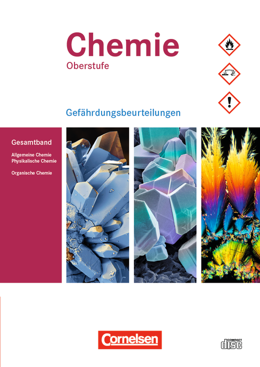 Chemie Oberstufe - Gefährdungsbeurteilungen zu allen Ausgaben - Gefährdungsbeurteilungen auf CD-ROM