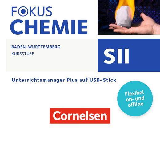 Fokus Chemie - Sekundarstufe II - Unterrichtsmanager Plus auf USB-Stick - Kursstufe