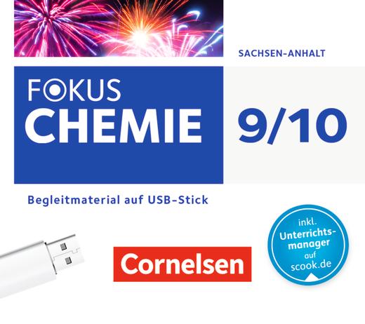 Fokus Chemie - Neubearbeitung - Begleitmaterial auf USB-Stick - 9./10. Schuljahr