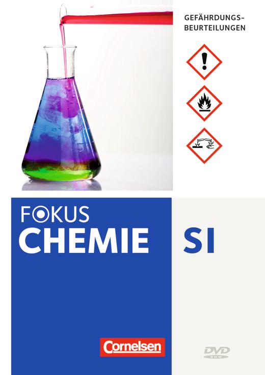 Fokus Chemie - Neubearbeitung - Gefährdungsbeurteilungen - DVD-ROM - 7.-10. Schuljahr