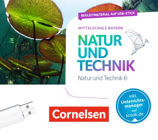 NuT - Natur und Technik - Begleitmaterial auf USB-Stick - 6. Jahrgangsstufe