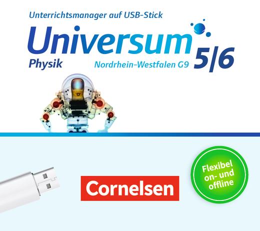 Universum Physik - Unterrichtsmanager Plus auf USB-Stick - 5./6. Schuljahr