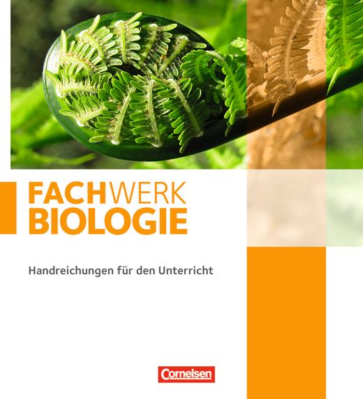 Fachwerk Biologie - Ordner (leer) zu den Handreichungen für den Unterricht - Gesamtband