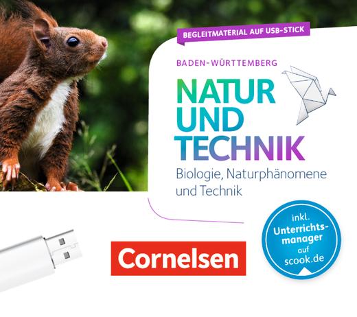 Natur und Technik - Naturwissenschaften: Neubearbeitung - Begleitmaterial auf USB-Stick - 5./6. Schuljahr: Biologie, Naturphänomene und Technik
