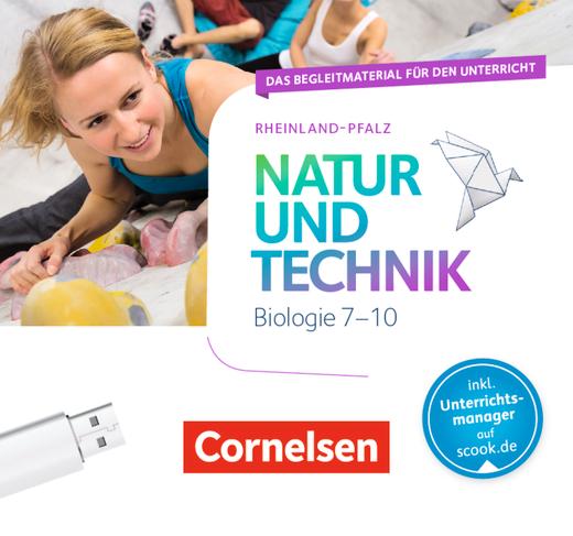 Natur und Technik - Biologie Neubearbeitung - Begleitmaterial auf USB-Stick - 7.-10. Schuljahr