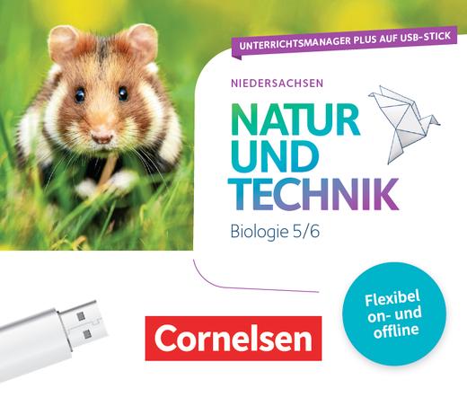 Natur und Technik - Biologie Neubearbeitung - Unterrichtsmanager Plus auf USB-Stick - 5./6. Schuljahr