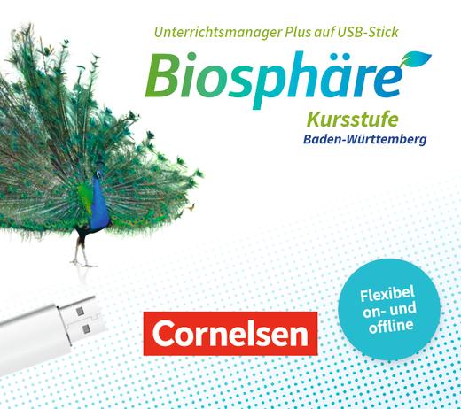 Biosphäre Sekundarstufe II - 2.0 - Unterrichtsmanager Plus auf USB-Stick - Kursstufe