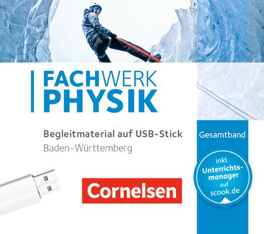 Fachwerk Physik - Begleitmaterial auf USB-Stick - Gesamtband