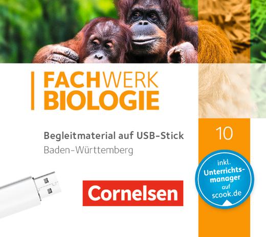 Fachwerk Biologie - Begleitmaterial auf USB-Stick - 10. Schuljahr
