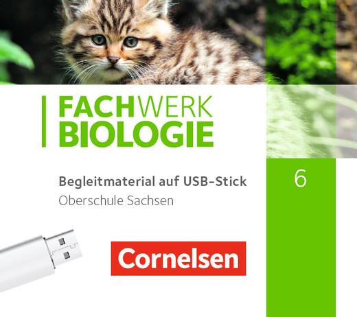 Fachwerk Biologie - Unterrichtsmanager Plus auf USB-Stick - 6. Schuljahr