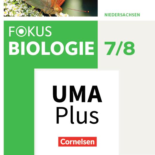 Fokus Biologie - Neubearbeitung - Unterrichtsmanager Plus online (Demo 90 Tage) - 7./8. Schuljahr