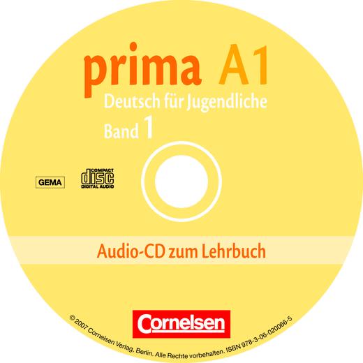 Prima - Deutsch für Jugendliche - Audio-CD - A1: Band 1