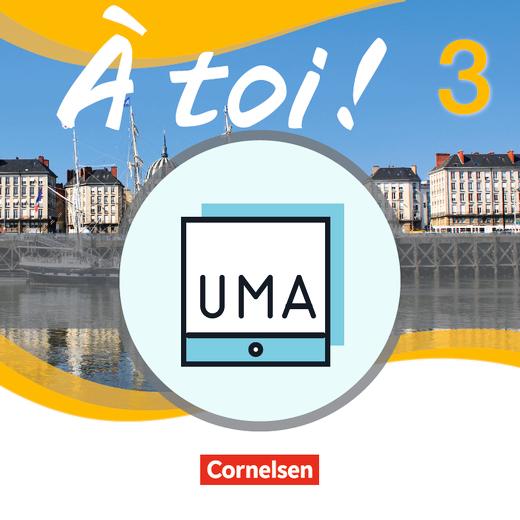 À toi ! - Unterrichtsmanager Zusatzmodul - Ergänzende Dateien zur Vollversion - Grammatikheft - online und als Download - Band 3