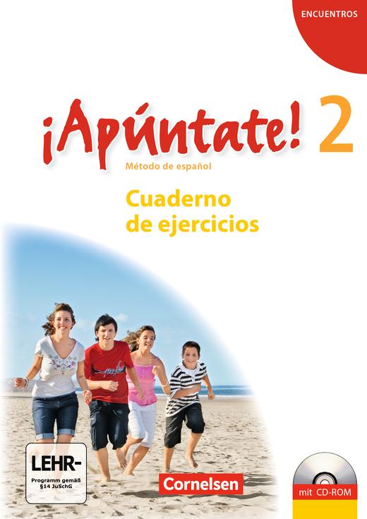 ¡Apúntate! - Cuaderno de ejercicios inkl. CD-Extra - Band 2