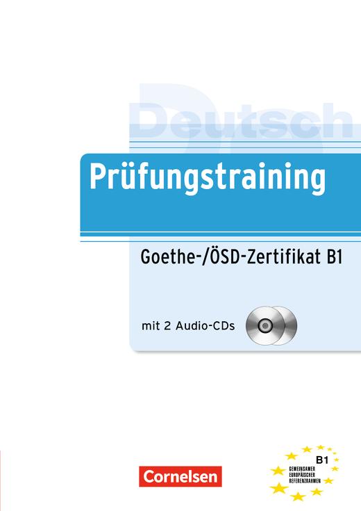 Prüfungstraining Daf Goethe ösd Zertifikat B1 übungsbuch Mit