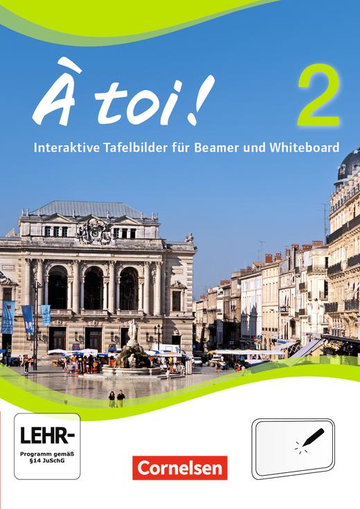 À toi ! - Interaktive Tafelbilder für Whiteboard und Beamer - CD-ROM - Band 2