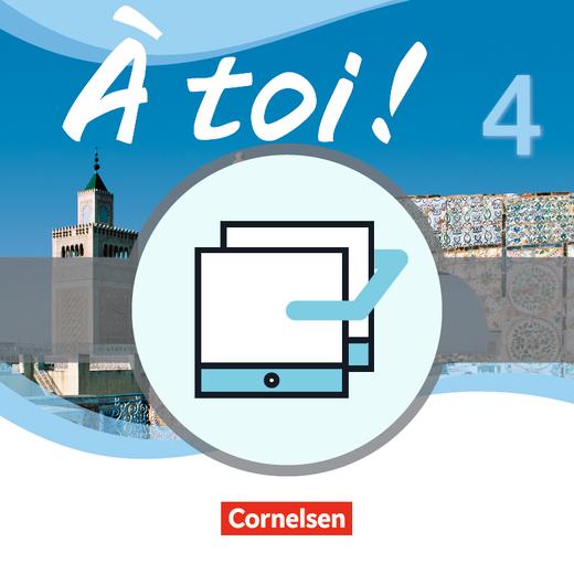 À toi ! - Unterrichtsmanager - Vollversion auf DVD-ROM - Band 4