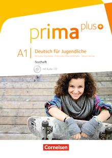 Prima plus - Testheft mit Audio-CD - A1: zu Band 1 und 2