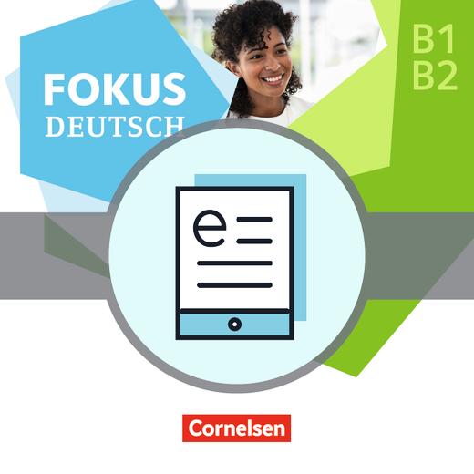 Fokus Deutsch - Erfolgreich in Pflegeberufen - Kurs- und Übungsbuch als E-Book - B1/B2