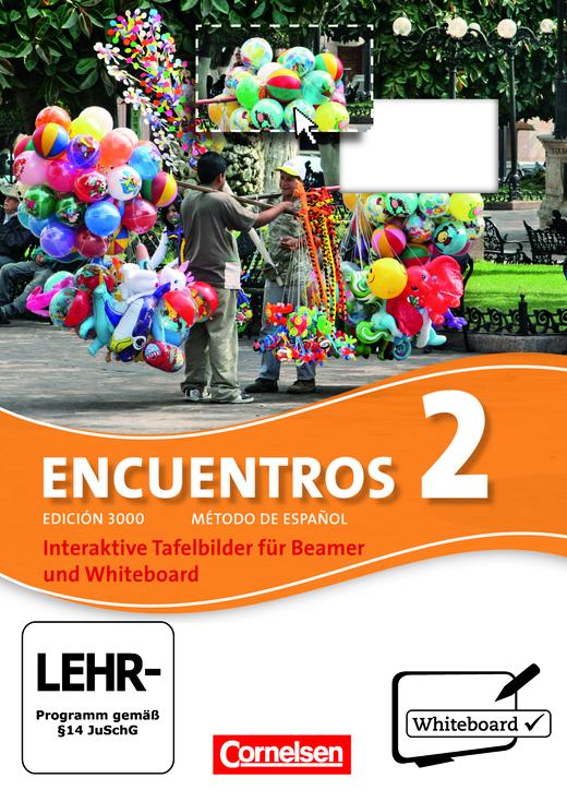 Encuentros - Interaktive Tafelbilder für Whiteboard und Beamer - CD-ROM - Band 2