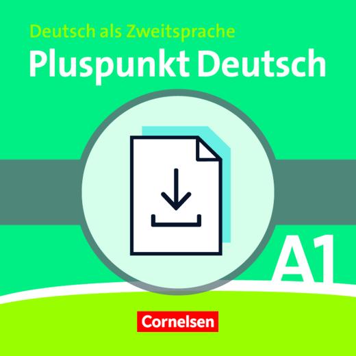 Pluspunkt Deutsch - Vokabeltaschenbuch Deutsch-Bulgarisch als Download - A1: Gesamtband