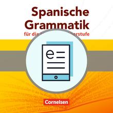 Spanische Grammatik für die Mittel- und Oberstufe - Grammatik als E-Book