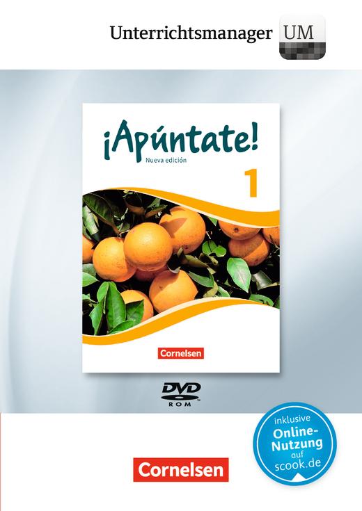 ¡Apúntate! - Unterrichtsmanager - Vollversion auf DVD-ROM - Band 1