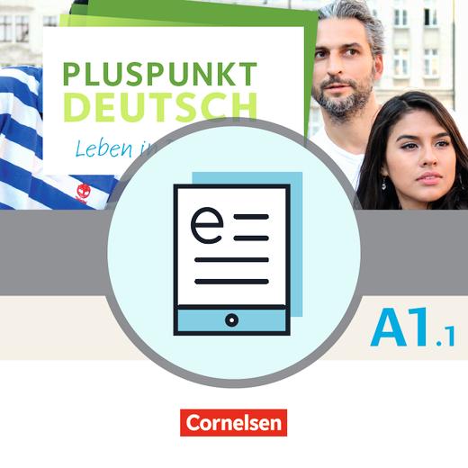 Pluspunkt Deutsch - Leben in Deutschland - Kursbuch als E-Book - A1: Teilband 1