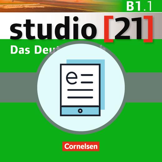 Studio [21] - Das Deutschbuch (Kurs- und Übungsbuch) als E-Book - B1: Teilband 1