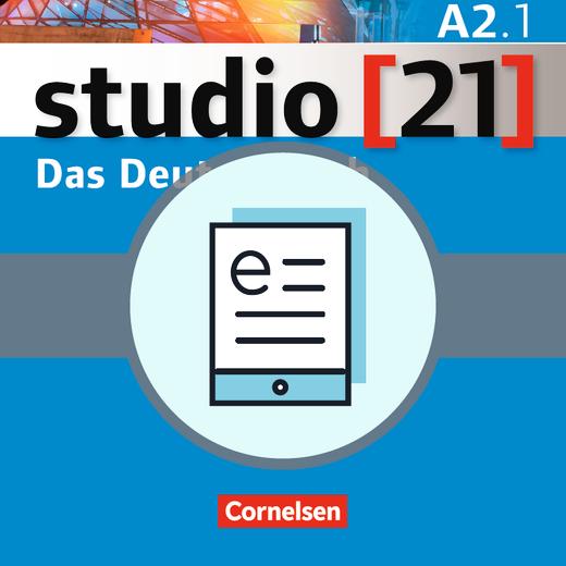 Studio [21] - Das Deutschbuch (Kurs- und Übungsbuch) als E-Book - A2: Teilband 1