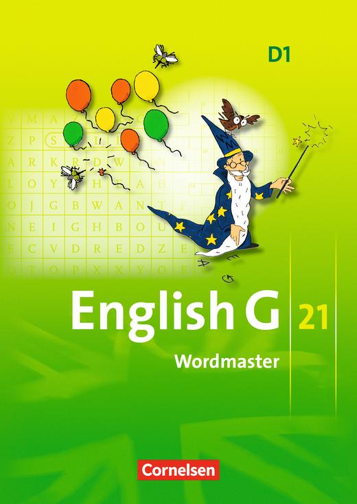 English G 21 - Wordmaster mit Lösungen - Band 1: 5. Schuljahr