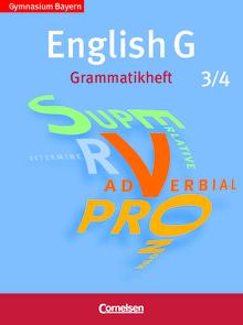 English G - Grammatikheft - Band 3/4: 7./8. Jahrgangsstufe