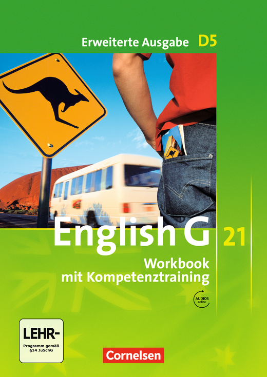 English G 21 - Workbook mit Audios online - Band 5: 9. Schuljahr
